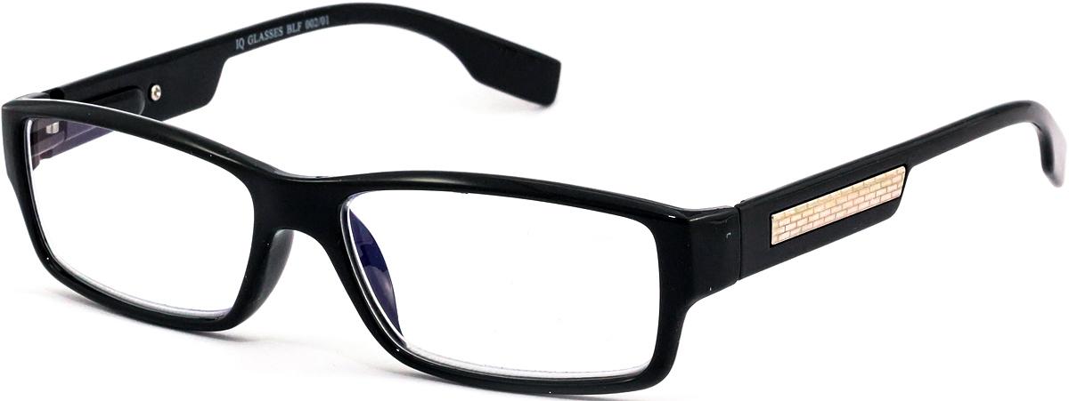 IQ Glasses Очки для чтения BLF 002 01 +3.04690452041797Готовые очки для чтения с фильтром для защиты глаз от UV400 и потенциально опасных лучей синего света, излучаемого экранами большинства электронных устройств.Снижают интенсивность потенциально опасных лучей синего цвета.Увеличивают контрастность изображения.Повышают четкость и яркость зрения.Нейтрализуют яркий и отраженный свет.Уменьшают усталость глаз.Новые очки для работы с цифровыми устройствами созданы для того, чтобы ваша жизнь онлайн была как можно комфортнее.Металлические и пластиковые оправы подойдут как модникам, так и любителям классики. Продаются без рецепта.Защита глаз сегодня, отличное зрение в будущем!