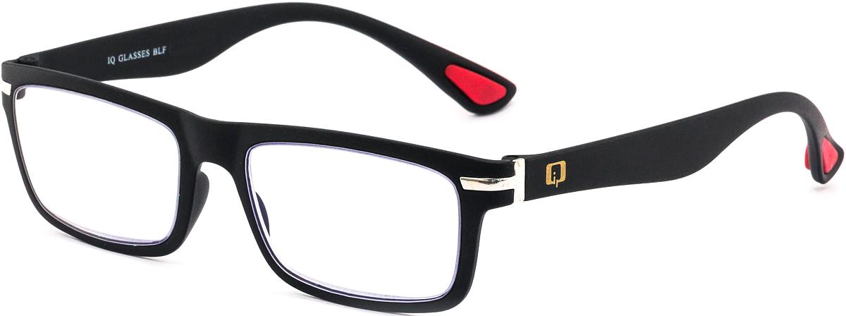 IQ Glasses Очки для чтения BLF 003 49 +1.54690452042008Готовые очки для чтения с фильтром для защиты глаз от UV400 и потенциально опасных лучей синего света, излучаемого экранами большинства электронных устройств.Снижают интенсивность потенциально опасных лучей синего цвета.Увеличивают контрастность изображения.Повышают четкость и яркость зрения.Нейтрализуют яркий и отраженный свет.Уменьшают усталость глаз.Новые очки для работы с цифровыми устройствами созданы для того, чтобы ваша жизнь онлайн была как можно комфортнее.Металлические и пластиковые оправы подойдут как модникам, так и любителям классики. Продаются без рецепта.Защита глаз сегодня, отличное зрение в будущем!