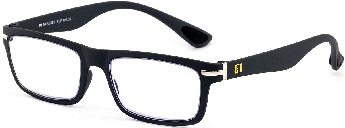 IQ Glasses Очки для чтения BLF 003 50 +2.04690452042077Готовые очки для чтения с фильтром для защиты глаз от UV400 и потенциально опасных лучей синего света, излучаемого экранами большинства электронных устройств.Снижают интенсивность потенциально опасных лучей синего цвета.Увеличивают контрастность изображения.Повышают четкость и яркость зрения.Нейтрализуют яркий и отраженный свет.Уменьшают усталость глаз.Новые очки для работы с цифровыми устройствами созданы для того, чтобы ваша жизнь онлайн была как можно комфортнее.Металлические и пластиковые оправы подойдут как модникам, так и любителям классики. Продаются без рецепта.Защита глаз сегодня, отличное зрение в будущем!