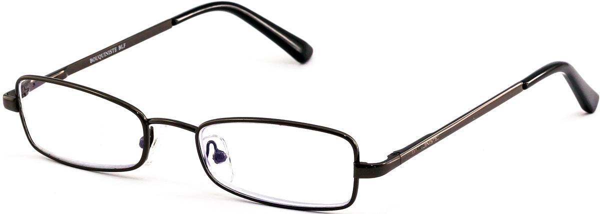 Bouquiniste Очки для чтения BLF 001 C21 +2.04690452043524Готовые очки для чтения с фильтром для защиты глаз от UV400 и потенциально опасных лучей синего света, излучаемого экранами большинства электронных устройств.Снижают интенсивность потенциально опасных лучей синего цвета.Увеличивают контрастность изображения.Повышают четкость и яркость зрения.Нейтрализуют яркий и отраженный свет.Уменьшают усталость глаз.Новые очки для работы с цифровыми устройствами созданы для того, чтобы ваша жизнь онлайн была как можно комфортнее.Металлические и пластиковые оправы подойдут как модникам, так и любителям классики. Продаются без рецепта.Защита глаз сегодня, отличное зрение в будущем!