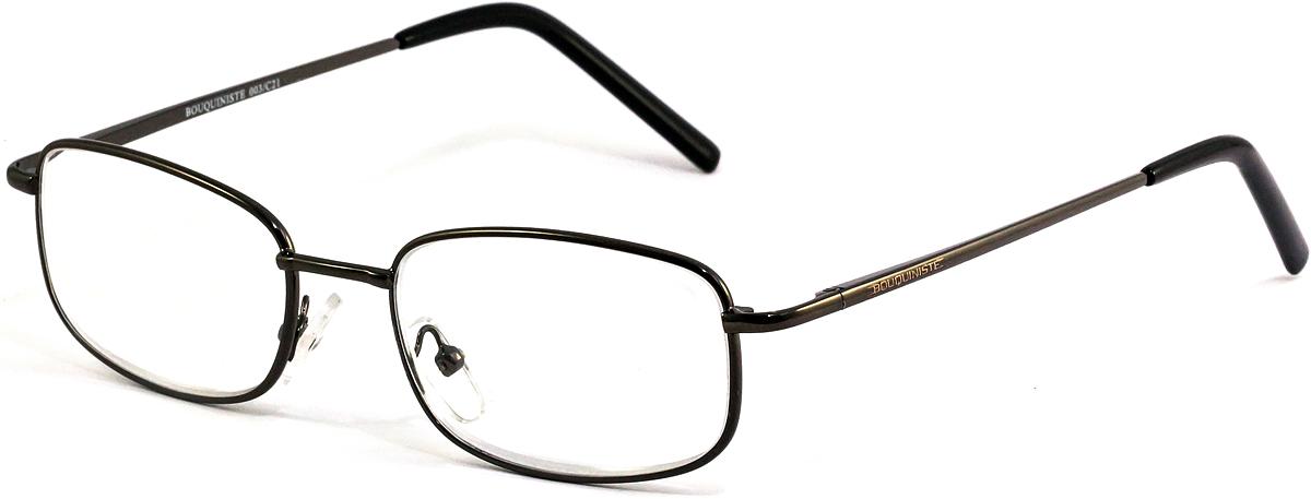 Bouquiniste Очки для чтения BLF 003 C21 +2.04690452043722Готовые очки для чтения с фильтром для защиты глаз от UV400 и потенциально опасных лучей синего света, излучаемого экранами большинства электронных устройств.Снижают интенсивность потенциально опасных лучей синего цвета.Увеличивают контрастность изображения.Повышают четкость и яркость зрения.Нейтрализуют яркий и отраженный свет.Уменьшают усталость глаз.Новые очки для работы с цифровыми устройствами созданы для того, чтобы ваша жизнь онлайн была как можно комфортнее.Металлические и пластиковые оправы подойдут как модникам, так и любителям классики. Продаются без рецепта.Защита глаз сегодня, отличное зрение в будущем!