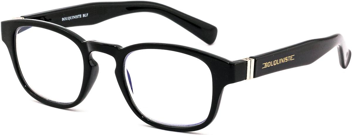 Bouquiniste Очки для чтения BLF 006 01 +2.54690452044309Готовые очки для чтения с фильтром для защиты глаз от UV400 и потенциально опасных лучей синего света, излучаемого экранами большинства электронных устройств.Снижают интенсивность потенциально опасных лучей синего цвета.Увеличивают контрастность изображения.Повышают четкость и яркость зрения.Нейтрализуют яркий и отраженный свет.Уменьшают усталость глаз.Новые очки для работы с цифровыми устройствами созданы для того, чтобы ваша жизнь онлайн была как можно комфортнее.Металлические и пластиковые оправы подойдут как модникам, так и любителям классики. Продаются без рецепта.Защита глаз сегодня, отличное зрение в будущем!