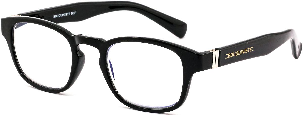 Bouquiniste Очки для чтения BLF 006 01 +3.04690452044316Готовые очки для чтения с фильтром для защиты глаз от UV400 и потенциально опасных лучей синего света, излучаемого экранами большинства электронных устройств.Снижают интенсивность потенциально опасных лучей синего цвета.Увеличивают контрастность изображения.Повышают четкость и яркость зрения.Нейтрализуют яркий и отраженный свет.Уменьшают усталость глаз.Новые очки для работы с цифровыми устройствами созданы для того, чтобы ваша жизнь онлайн была как можно комфортнее.Металлические и пластиковые оправы подойдут как модникам, так и любителям классики. Продаются без рецепта.Защита глаз сегодня, отличное зрение в будущем!