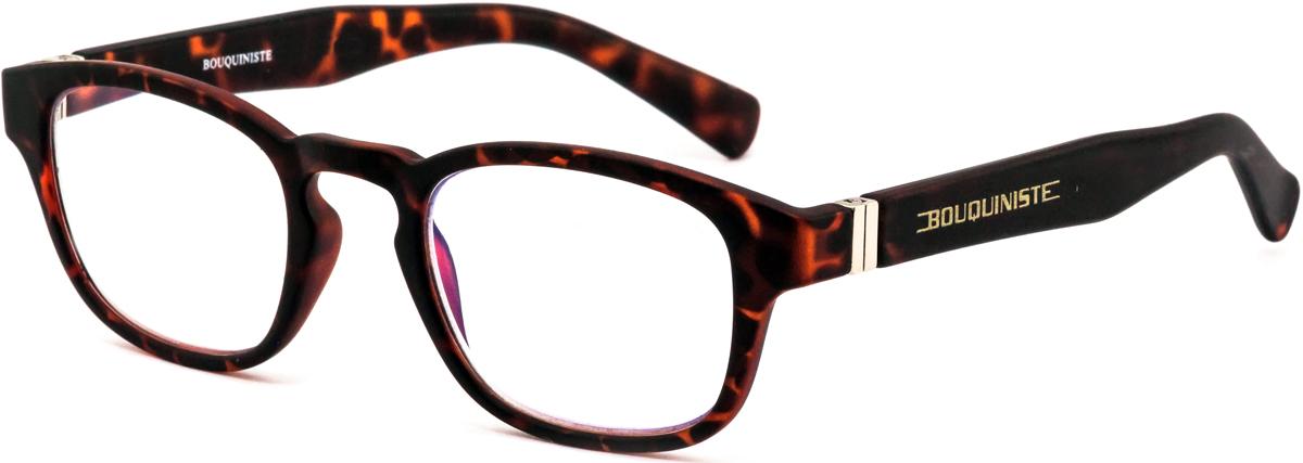 Bouquiniste Очки для чтения BLF 006 T3 +2.54690452044514Готовые очки для чтения с фильтром для защиты глаз от UV400 и потенциально опасных лучей синего света, излучаемого экранами большинства электронных устройств.Снижают интенсивность потенциально опасных лучей синего цвета.Увеличивают контрастность изображения.Повышают четкость и яркость зрения.Нейтрализуют яркий и отраженный свет.Уменьшают усталость глаз.Новые очки для работы с цифровыми устройствами созданы для того, чтобы ваша жизнь онлайн была как можно комфортнее.Металлические и пластиковые оправы подойдут как модникам, так и любителям классики. Продаются без рецепта.Защита глаз сегодня, отличное зрение в будущем!
