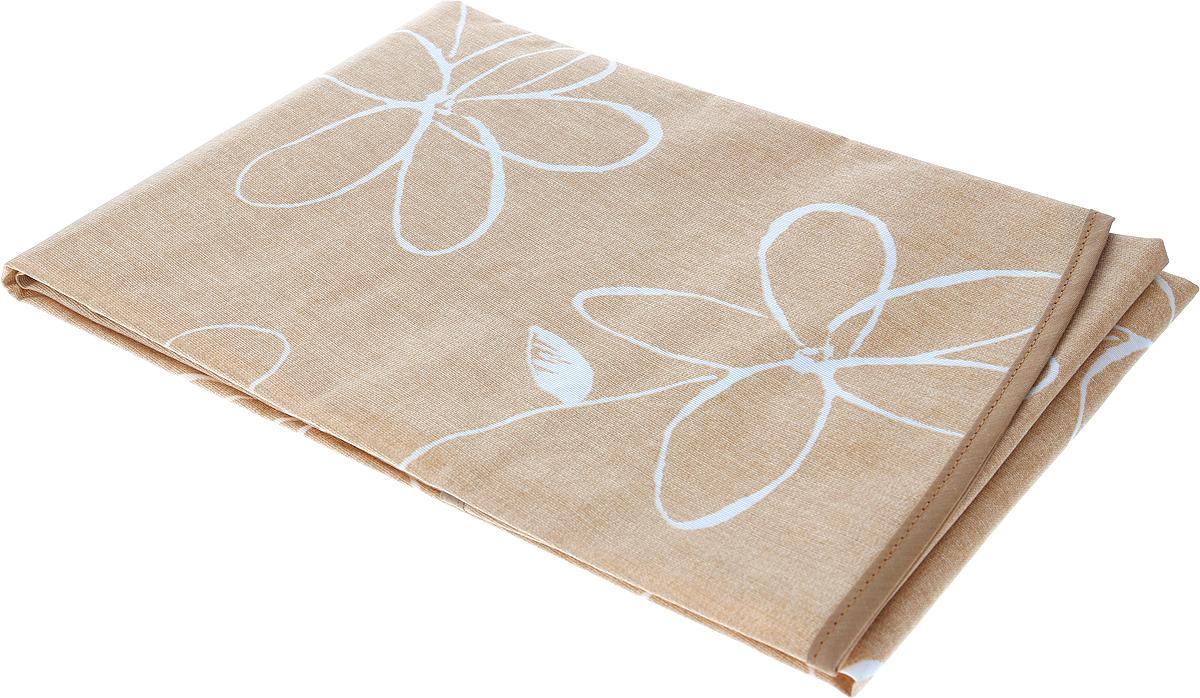 """Эксклюзивная и стильная скатерть Protec Textil """"Alba. Анна"""" состоит на 80% из хлопка и на 20% из полиэстера. Специальная обработка придает ткани термостойкость и влагоустойчивость. Технология производства изделий отвечает новейшим европейским стандартам. Полотна отличаются высочайшими качественными характеристиками: высокими показателями износостойкости, цветостойкости и цветопередачи, прочности ткани на разрыв, низкими показателями истираемости полотна при многократном использовании изделия. Скатерть обладает высокой плотностью, не скользит и не перемещается на поверхности стола, легко протирается влажной тканью, возможна деликатная стирка при температуре не выше 30 градусов.  Скатерть Protec Textil """"Alba. Анна"""" - это тренд современной хозяйки, которая предпочитает стиль и качество в сочетании с практичностью. Диаметр: 160 см."""