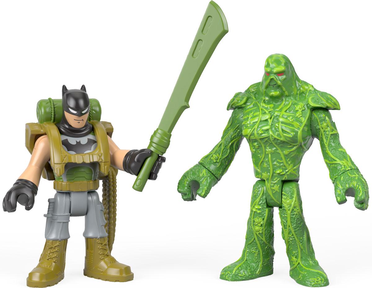 Imaginext Набор фигурок DC Super Friends Batman & Swamp Thing dc super friends flying high