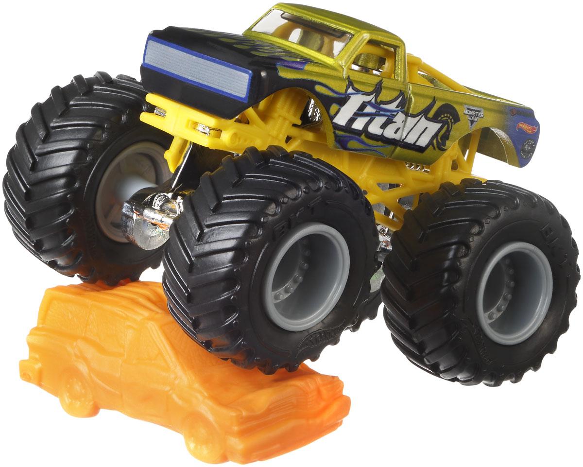 Hot Wheels Monster Jam Машинка Titan hot 55055