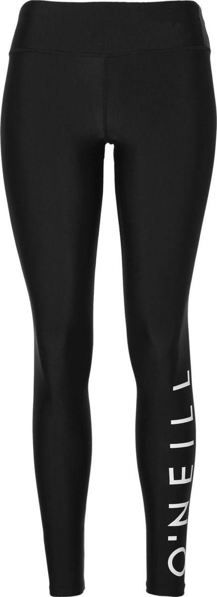 Леггинсы женские O'Neill Pw Sports Logo Legging, цвет: черный. 8A7712-9010. Размер XS (42/44)