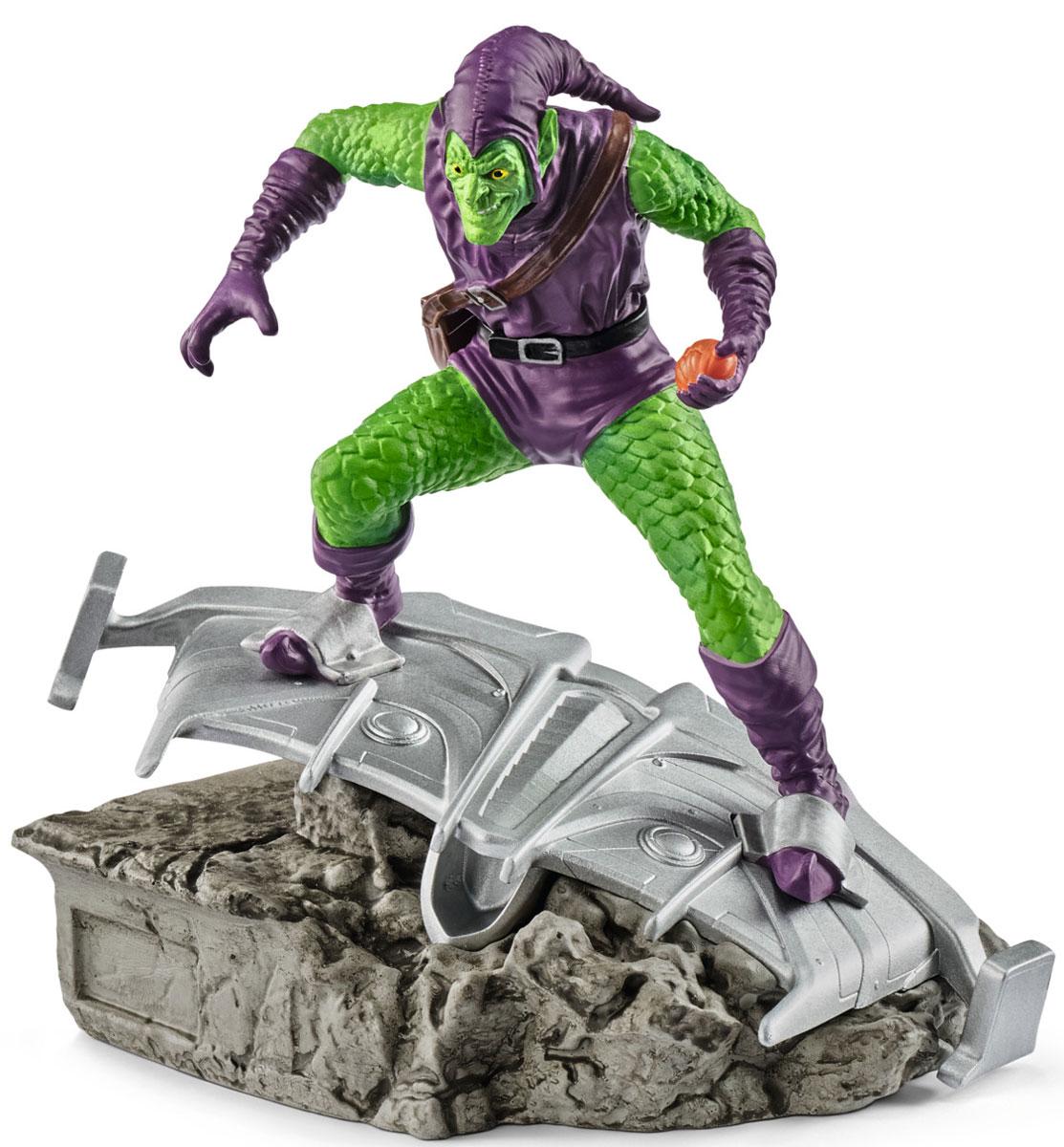 Schleich Фигурка Зеленый гоблин фигурки игрушки schleich герой комиксов бэтмэн и супермэн прикреплёны к опорной подставке