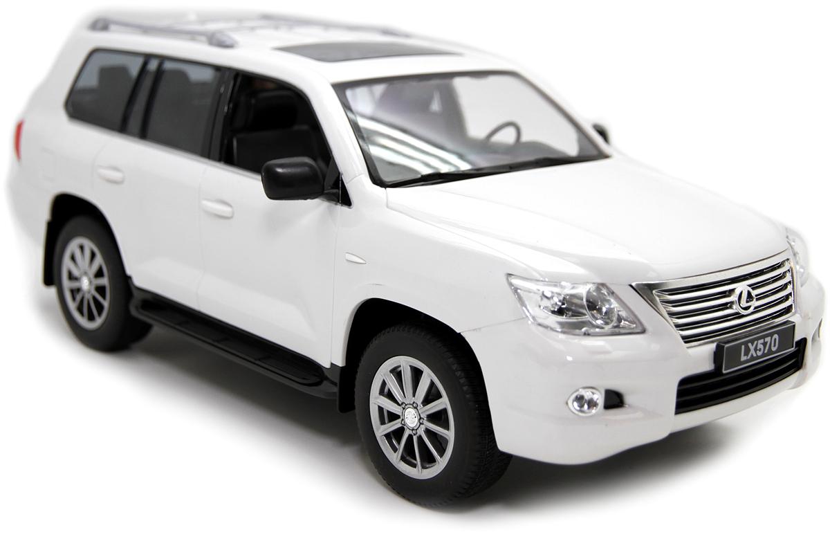 Balbi Внедорожник на радиоуправлении Lexus LX 570 цвет белый A0G1082923 balbi balbi радиоуправляемая машина внедорожник crawler 1 18 зеленый