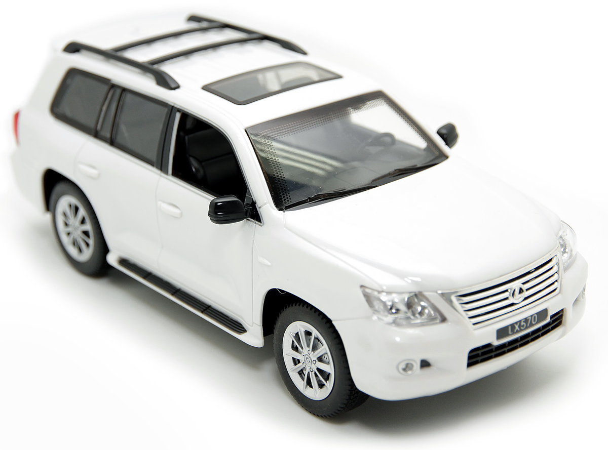 Balbi Внедорожник на радиоуправлении Lexus LX 570 цвет белый A0G1082929