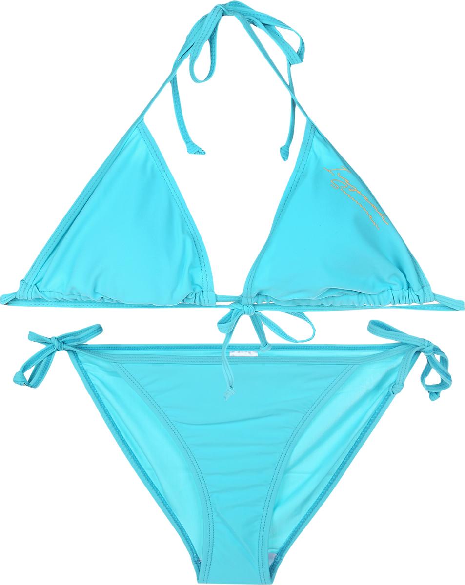 Купальник раздельный женский Icepeak, цвет: голубой. 965001810IV_334. Размер 42 (48) полуприлегающее платье с v образным вырезом gf ferre платья и сарафаны мини короткие