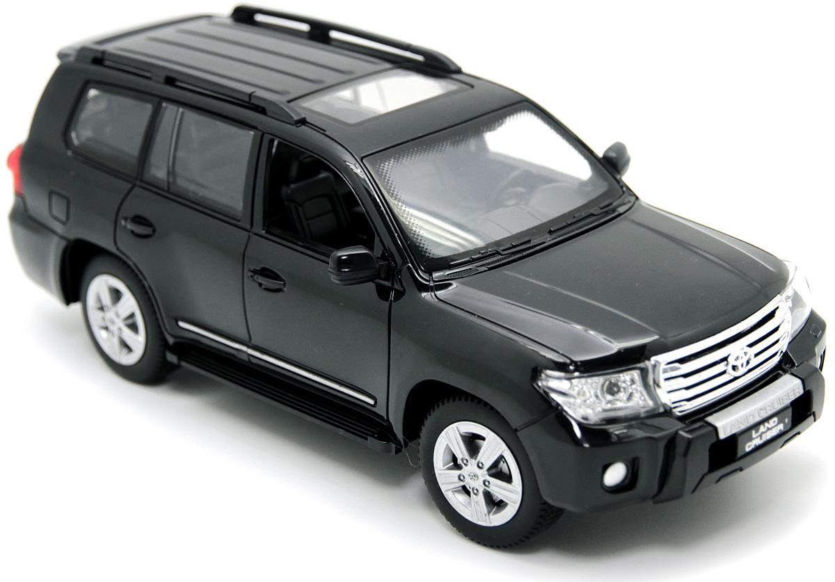 Balbi Внедорожник на радиоуправлении Toyota Land Cruiser цвет черный A0G1082924 вязальные машины для дома в беларуссии