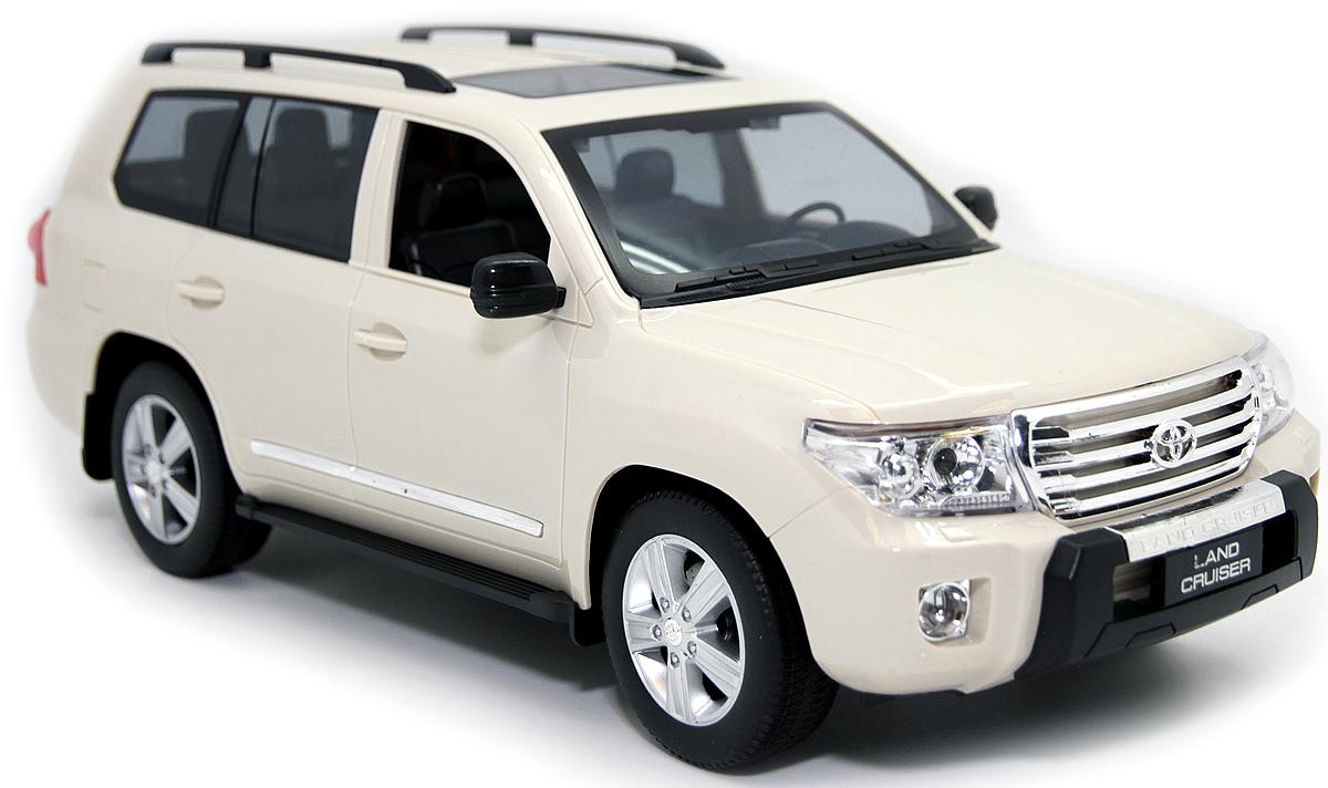 Balbi Внедорожник на радиоуправлении Toyota Land Cruiser цвет бежевый A0G1082927 balbi balbi радиоуправляемая машина внедорожник crawler 1 18 зеленый