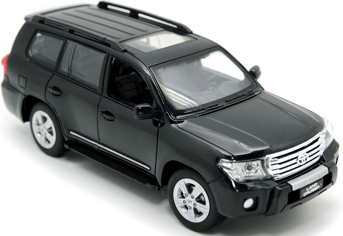 Balbi Внедорожник на радиоуправлении Toyota Land Cruiser цвет черный A0G1082926 литой диск replikey rk95073 toyota land cruiser 200 9x20 5x150 d110 1 et45 hb