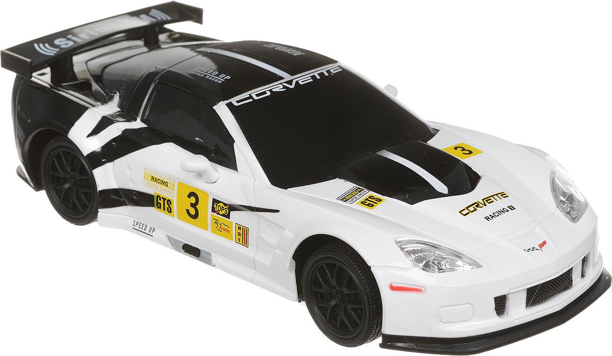 Hoffmann Модель автомобиля Chevrolet Corvette C6R масштаб 1:24 цвет черный белый модель шоссейного автомобиля kyosho inferno gt2 ve rs corvette c6r 4wd rtr масштаб 1 8 2 4g