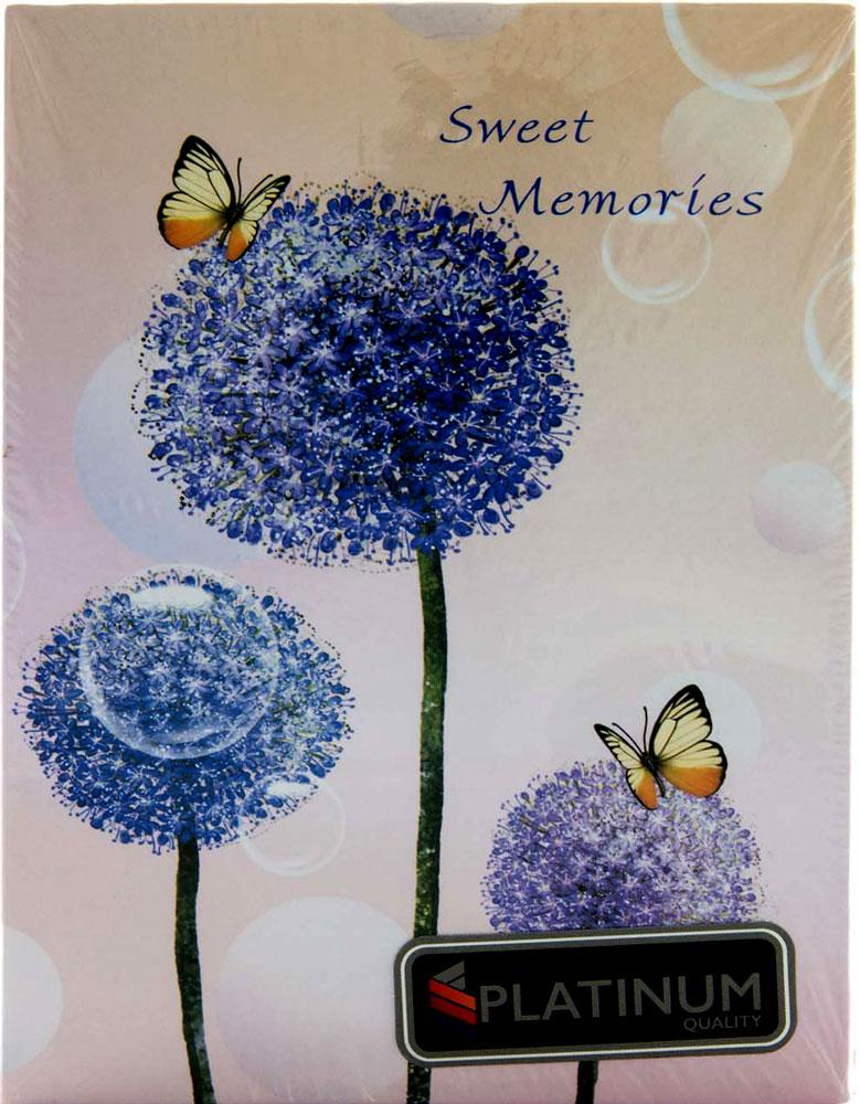 Фотоальбом Platinum Одуванчики, 100 фотографий, 10 х 15 см фотоальбом окно цвет голубой 100 фотографий 10 х 15 см