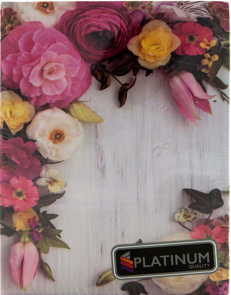Фотоальбом Platinum Соцветие, 100 фотографий, 10 х 15 см фотоальбом окно цвет голубой 100 фотографий 10 х 15 см