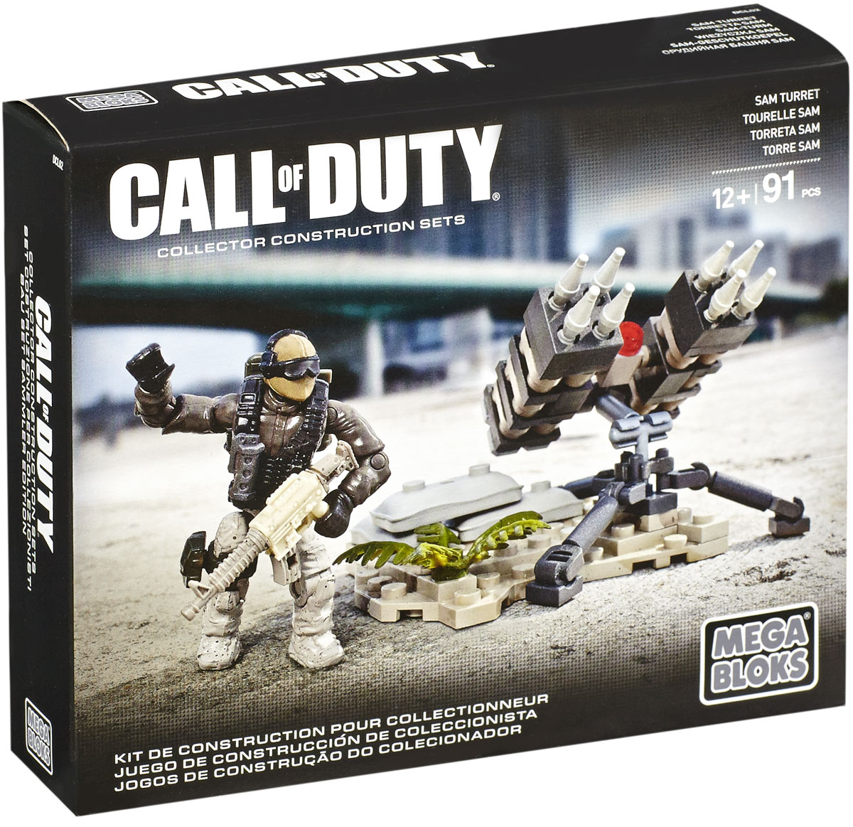 Mega Bloks Call Of Duty Конструктор Sam Turret - Конструкторы