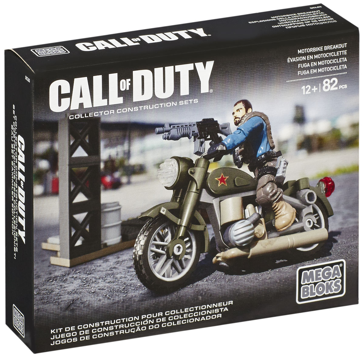 Mega Bloks Call Of Duty Конструктор Motorbike Breakout - Конструкторы