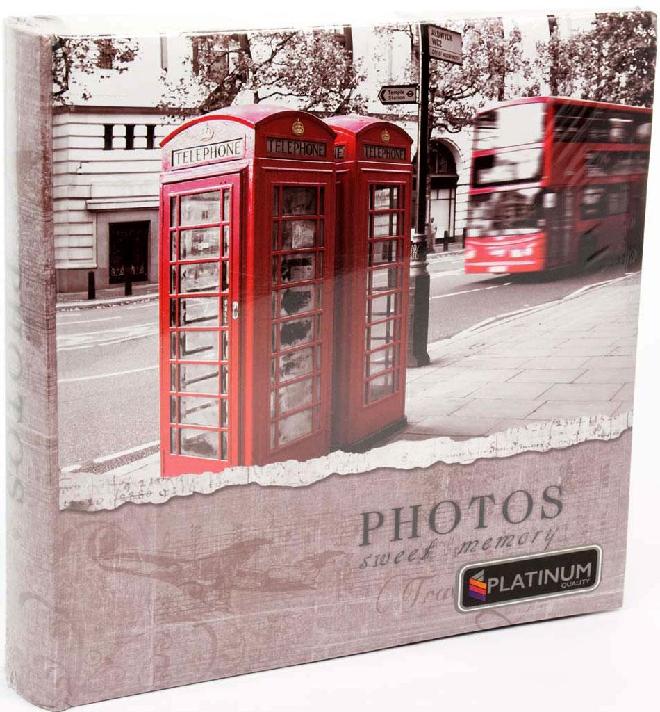 Фотоальбом Platinum Европа, книжный переплет, на 200 фото. С-46200RCL (22222) фотоальбом 6171