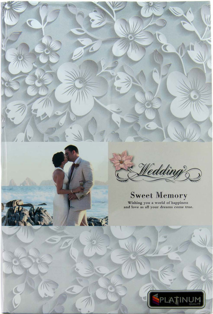 Фотоальбом Platinum Наша свадьба-3, 300 фотографий, 10 х 15 см калька для скрапбукинга свадьба 21 см х 30 см
