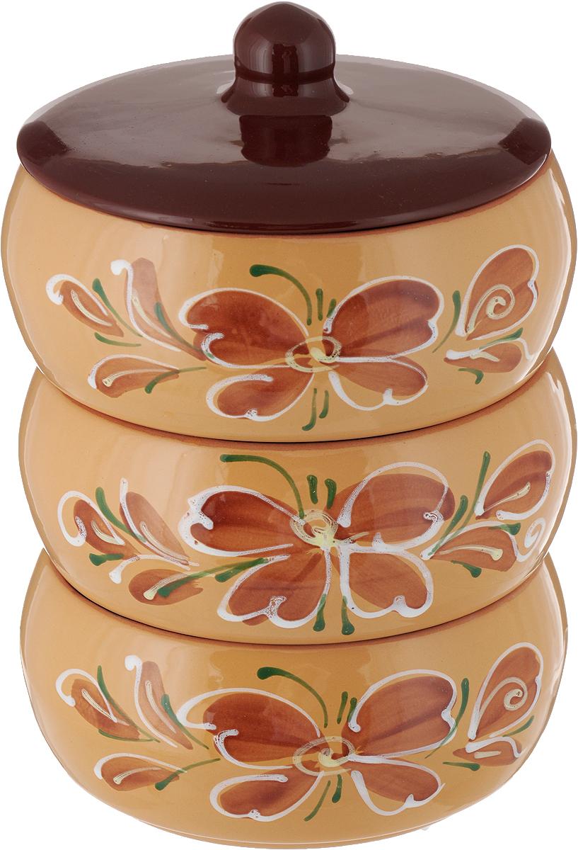 Набор блюд для холодца Борисовская керамика