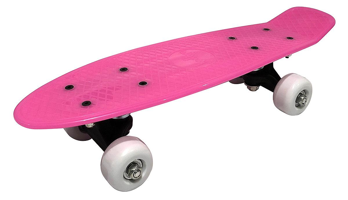 Круизер Indigo, цвет: розовый, 43 х 12,7 см, 608 Z sector9 лонгборд в сборе sector9 geo shoots 33 5