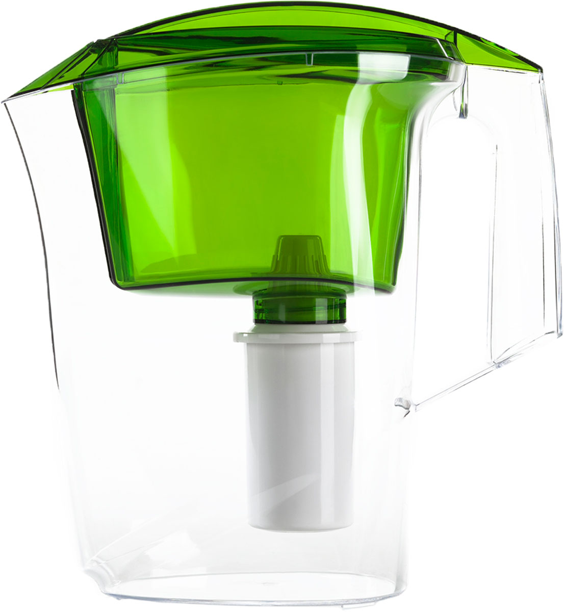 """Фильтр-кувшин Гейзер """"Альфа"""", цвет: зеленый, 2,5 л"""
