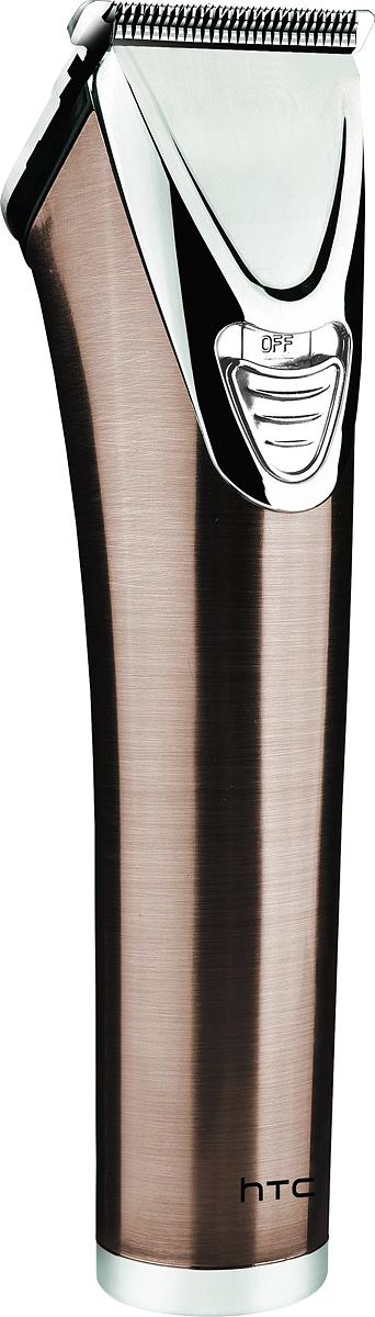 HTC АТ-126 машинка для стрижкиАТ-126Машинка для стрижки волос НТС, модель АТ-126.-покрытие изАБС-пластика, 2 аккумуляторные батареи 600mAh, резиноваяотделка покрытия. Время работы - 60 минут, время зарядки - 8часов. Длина срезаемых волос - от 3 до 6 мм. В комплектеидут: смазочное масло, чистящая щетка, защитная крышка длялезвий.