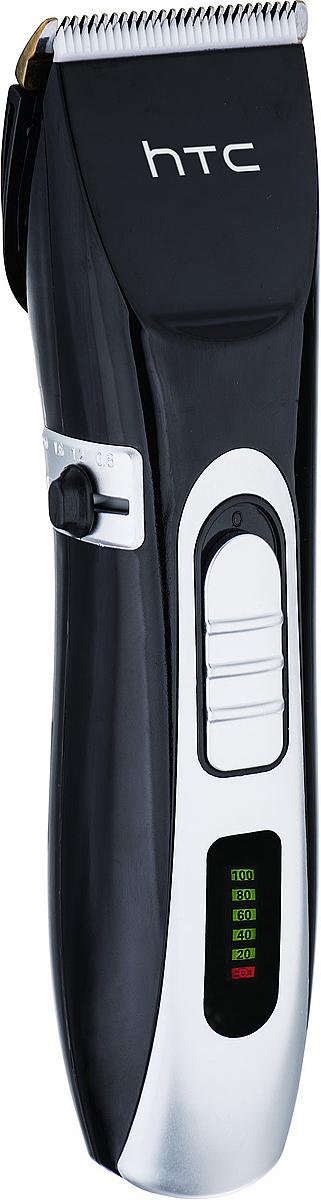 HTC АТ-739 машинка для стрижкиАТ-739Машинка для стрижки волос НТС, модель АТ-739.- 5 Вт,емкость аккумулятора - 1500 mAh, покрытие из АБС-пластика,функция охлаждения, высокоуглеродистое стальное лезвие,позволяющее убирать длину волос от 3 до 6 мм. Время работыприбора - 60 минут. В комплекте идут: смазочное масло,чистящая щетка, защитная крышка.