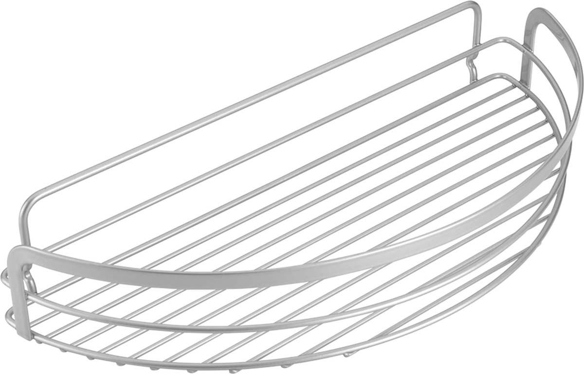 Полка для ванной Metaltex Viva, цвет: серый, 37 х 17 х 6 см40.48.08Товары данной серии Metaltex позволяют обойтись без инструмента и не требуют монтажных работ. При производстве используется экологически чистое эксклюзивное двойное покрытие Polytherm, являющееся прекрасным защитным и повышающим износостойкость слоем для металлических изделий, эксплуатируемых в помещениях с повышенным уровнем влажности (ванные комнаты и кухни). Суть покрытия Polytherm заключается в двойной обработке поверхности - в первую очередь наносится металлический слой, а затем прозрачное защитное покрытие. Данная обработка препятствует возникновению ржавчины и создает барьер для оседания пыли. Покрытие Polytherm не токсично при контакте с пищевыми продуктами, не электризуется, не царапается и легко моется.