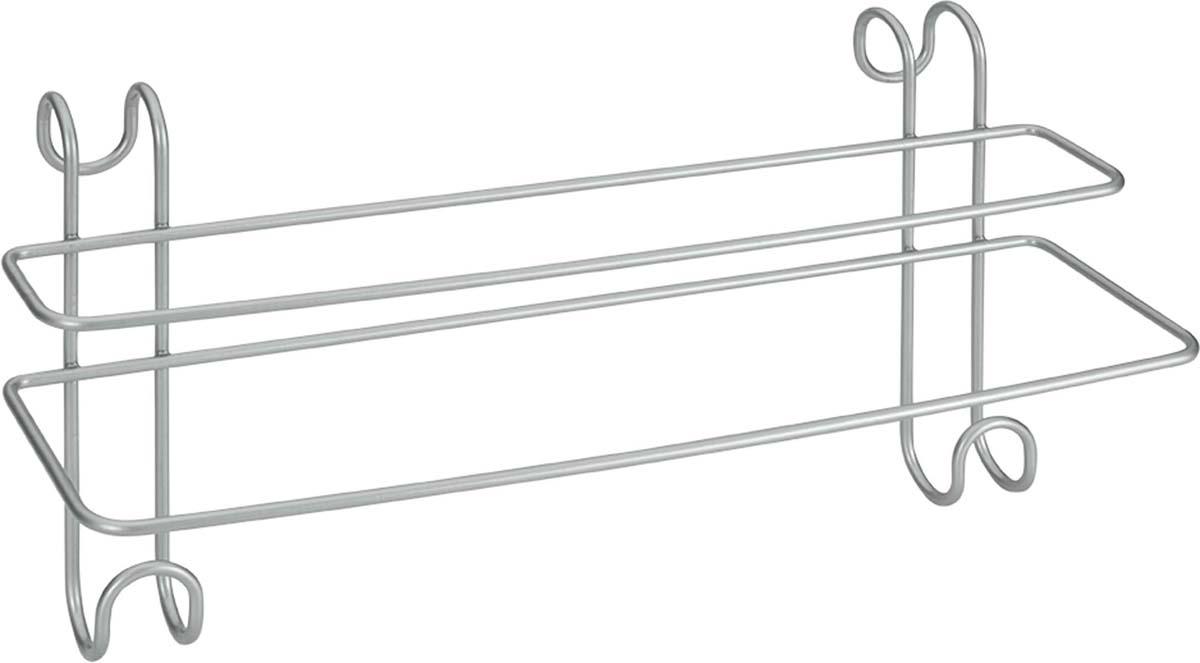 Полка RADIUS METALTEX проста и удобна в использовании, за счет продуманной и универсальной формы подвеса не требует сверления и может вешаться на полотенцесушитель. Polytherm - эксклюзивное прочное двойное покрытие: не электризуется, не ржавеет, нетоксично, легко моется, не царапается, отталкивает пыль.