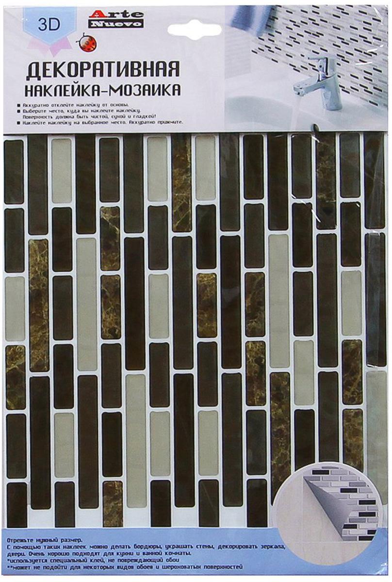 Наклейка-мозаика декоративная Arte Nuevo Дизайн 5, 35,5 х 24,2 смFYO-S-1002Декоративная наклейка - мозаика