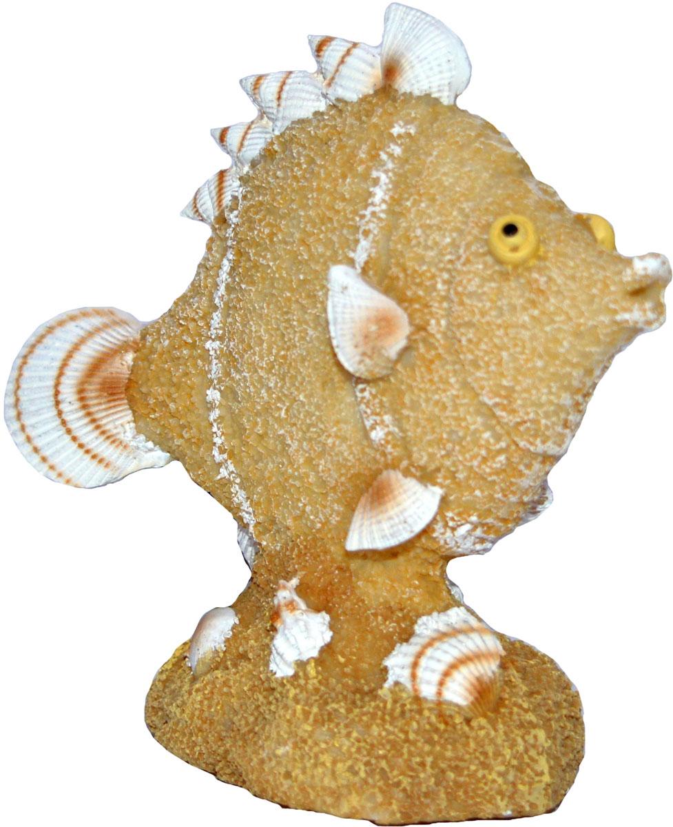 Декорация для аквариума Penn-Plax Рыбка из песка и ракушек, 6 см. RR1404RR1404