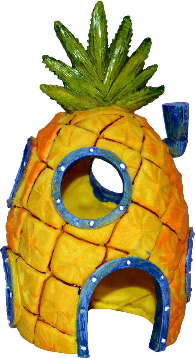 Грот для аквариума Penn-Plax Домик Губки Боба. SBR41 потолочная люстра odeon light crea color 2598 6c