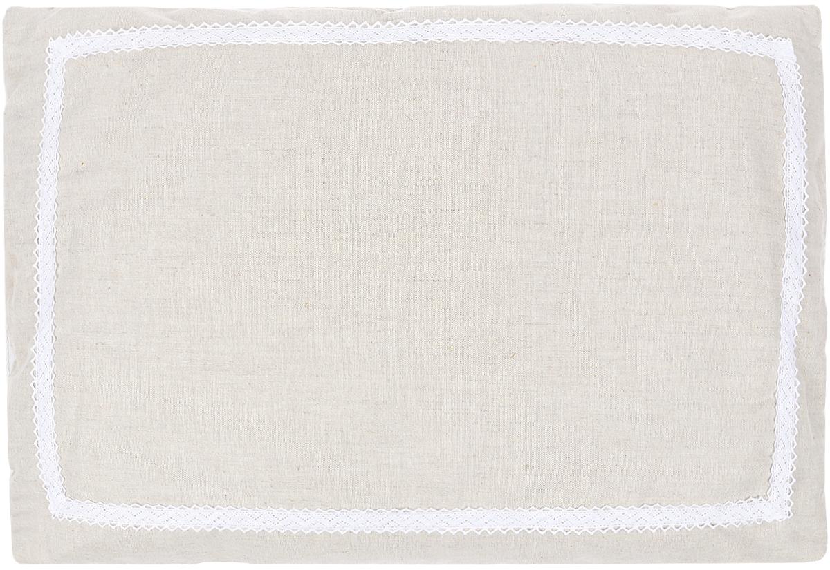 Подушка Bio-Textiles Кедровое очарование Naturel, наполнитель: кедр, цвет: бежевый, 50 х 70 см. KON172KON172Подушка обладает ортопедическим эффектом. Накопитель не склеивается, не накапливаетстатического электричества, гипоаллергенен. Пленка кедрового ореха сдержит эфирное маслокедра и подушка обладает оздоравливающим эффектом, помогает расслабиться и быстрозаснуть.