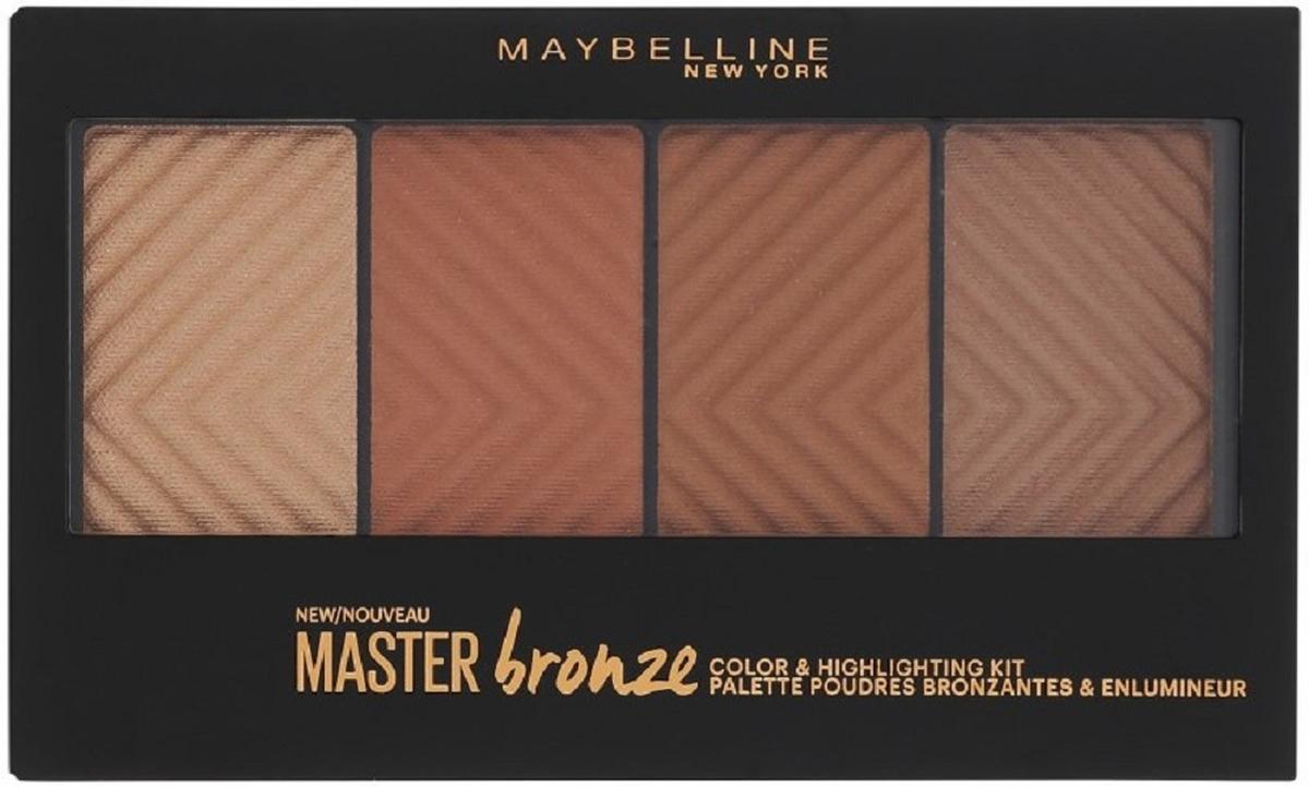 Maybelline New York Бронзовая палетка для контурирования лица Master Bronze, оттенок 30, 13,5 г nike sb рюкзак nike sb courthouse черный черный белый