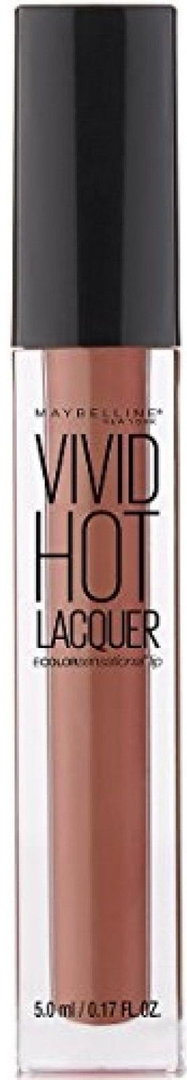 Maybelline New York Жидкая губная помада Vivid Hot Lacquer, оттенок 62, Charmer, 5 мл жидкая помада absolute new york velvet lippie 17 цвет avl17 lagoon variant hex name 1c8479