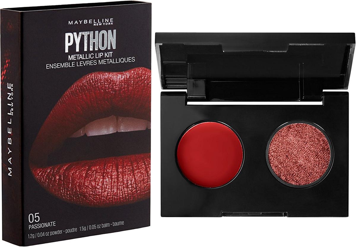 Maybelline New York Арт-палетка для макияжа губ Python, оттенок 05, Passionate, 15 гB3052200Создай самый трендовый образ с помощью арт-палетки для губ! Содержит яркие пигменты и разные финиши.
