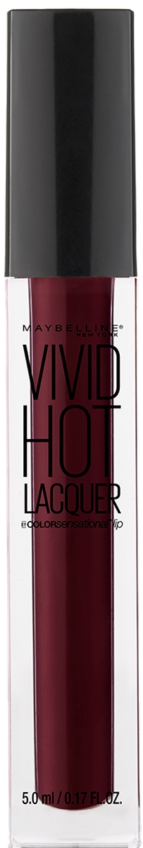 Maybelline New York Жидкая губная помада Vivid Hot Lacquer, оттенок 74, Retro, 5 мл жидкая помада absolute new york velvet lippie 17 цвет avl17 lagoon variant hex name 1c8479