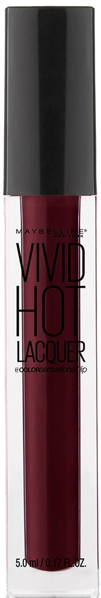 Maybelline New York Жидкая губная помада Vivid Hot Lacquer, оттенок 74, Retro, 5 мл жидкая помада absolute new york velvet lippie 03 цвет avl03 mojito variant hex name 8ecfa6