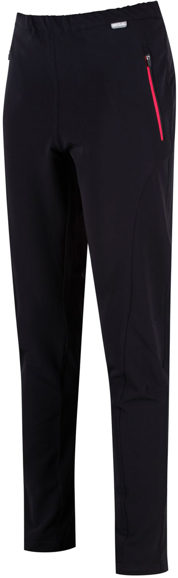 Брюки женские Regatta Pentre Strtch Trs, цвет: черный. RWJ193R-800. Размер 18 (50) брюки мужские regatta xert str trs ii цвет черный rmj177 800 размер 56