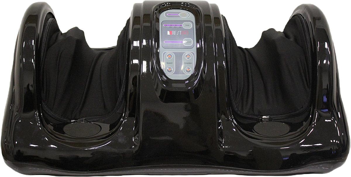 """RestArt Массажер для ног (стоп и лодыжек) роликовый """"Bliss"""" с пультом ДУ, тонизирующий массаж, цвет: черный"""