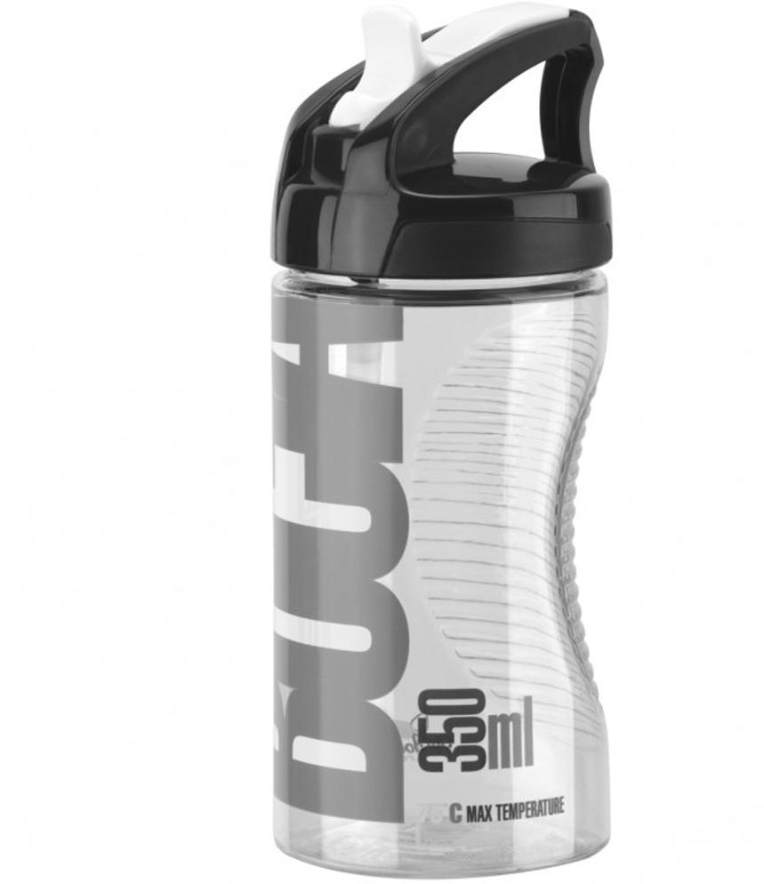 """Велосипедная фляга Elite """"Bocia"""" с диаметром 66 мм специально разработана для молодых гонщиков и предназначена для воды или специальных напитков. Изделие изготовлено из прозрачного Tritan-полиэстера, сохраняющего оригинальный вкус напитка, и оснащена новым спортивным колпачком для использования на открытом воздухе."""