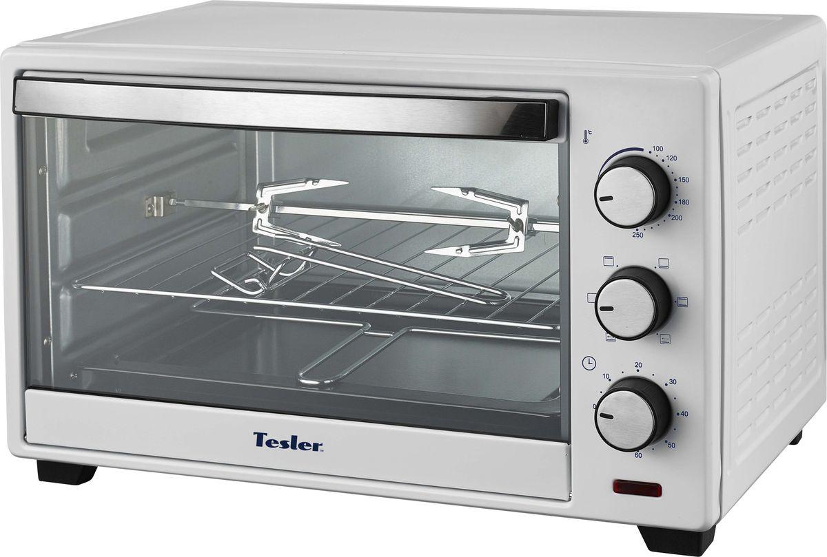 Tesler EOG-2900, White мини-печь мини печь tesler eog 2900