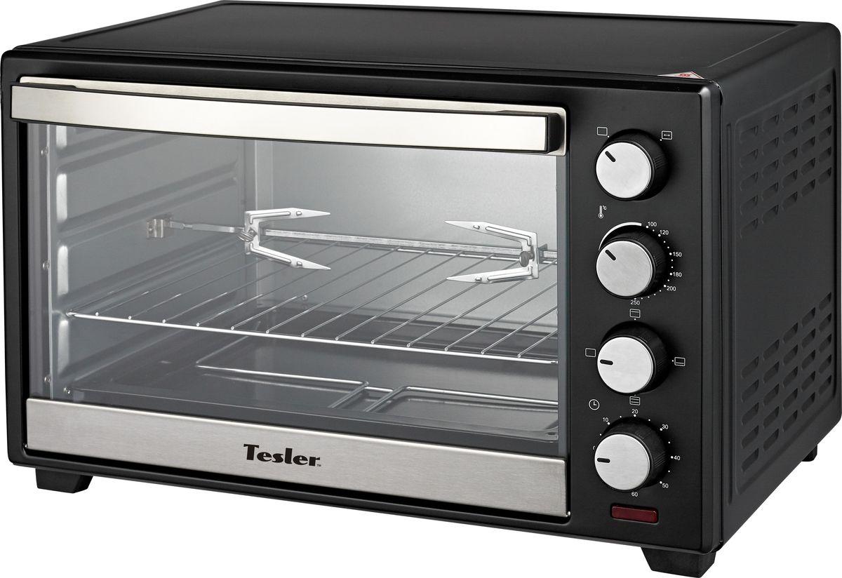Tesler EOG-6000, Black мини-печь мини печь tesler eog 3800