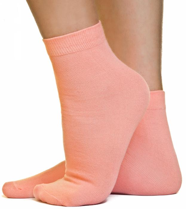 Носки женские Idilio, цвет: коралловый. SW 07. Размер универсальный