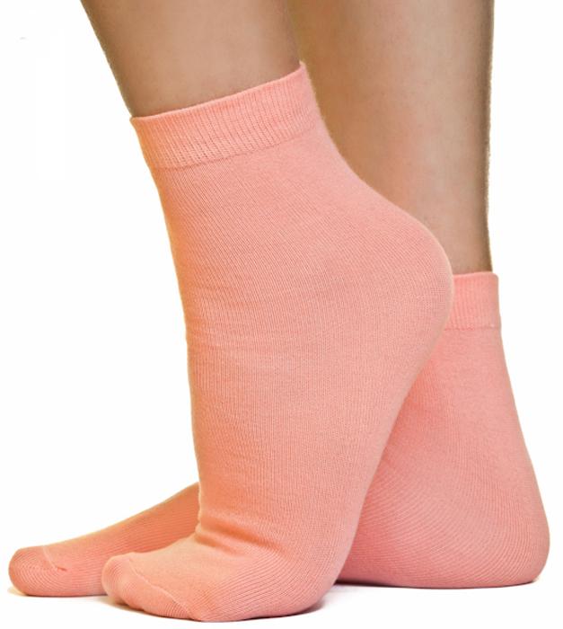 Носки женские Idilio, цвет: персиковый. SW 07. Размер универсальный