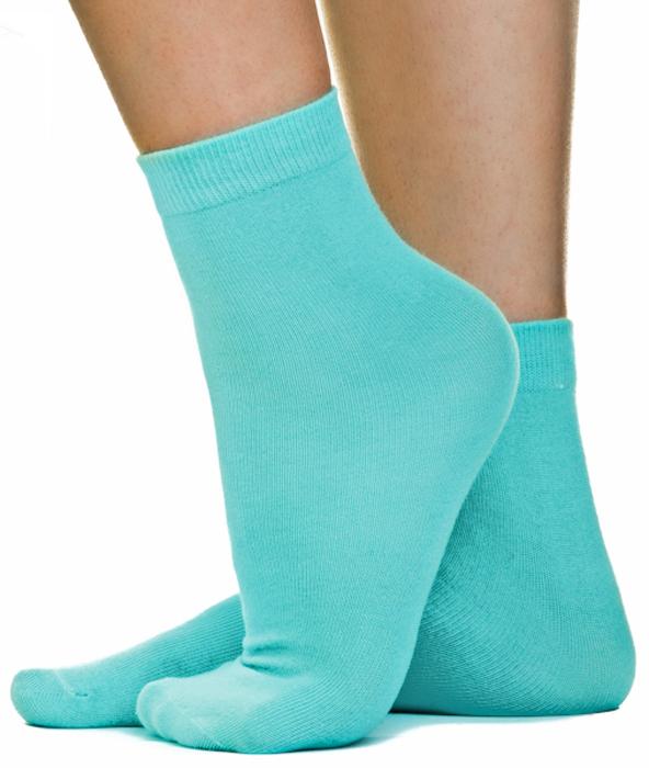 Носки женские Idilio, цвет: светло-зеленый. SW 07. Размер универсальный